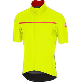 Castelli Gabba 3 Short Sleeve Jersey Men yellow fluo